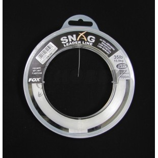 Fox Snag Leader Line Camo 0,50mm/35 lb 100 m CML063