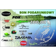 Bon podarunkowy 200 zł