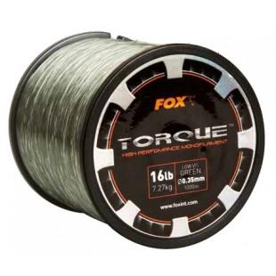 Fox Torque Line 0.35mm 16lbs x 1000m Green CML147