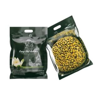 Carp Old School Mix kukurydz/konopie/rzepik suche ziarno + aromat truskawka 5 kg