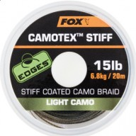 Fox Camotex Dark Stiff 20lb 20m CAC444