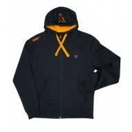 Fox Black & Orange Lightweight Zipped Hoody S CPR780