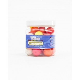 nash-classic-rainbow-pop-ups-white-chocolate-20mm-100gr