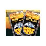 ET SUPER SOFT POP UP SWEETCORN YELLOW - 2 SIZES PLUS STOPS PER PACK