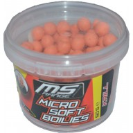 MS Range Micro Soft Boilies 50 g 7mm Truskawka