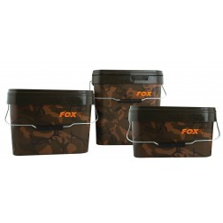 Fox Camo Square Buckets - 10 Litre CBT006