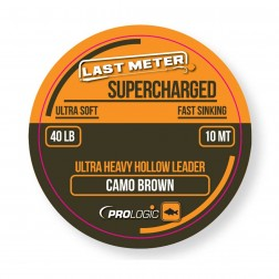 Prologic Supercharged Hollow Leader 7m 50lb Camo Brown 54461