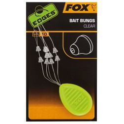 Fox EDGES Bait Bungs Clear CAC687