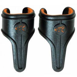 Fox Black Label Power Grip Line Clips Orange Large x3 CAC597