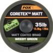 Fox Matt Coretex Weedy Green 25lb - 20m