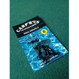 Carp'R'Us - Ring Swivels Size 8