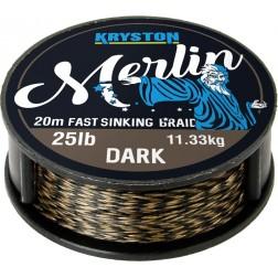 KRYSTON - MERLIN - Dark Silt 15lb - 20m
