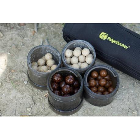 RidgeMonkey - Modular Hookbait Pots BLACK