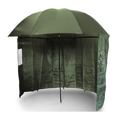 """NGT 45"""" Green Brolly with Zip on Side Sheet"""