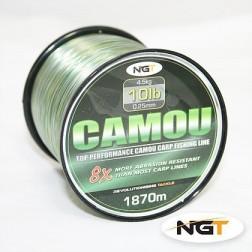 NGT Spool of Camo Line 12lb - 1490m