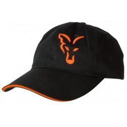 Fox Black & Orange Trucker Cap CPR924