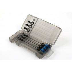 Fox Black Label Mini Swinger 3 Rod Set Blue CSI078