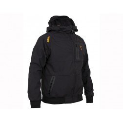 Fox Collection Orange & Black Shell Hoody S CCL085
