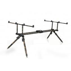 """Fox Horizon Duo Camo 3 Rod Pod inc 2 x 36"""" Long Legs CRP037"""