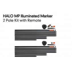 Fox Halo Illuminated Marker Pole – 1 Pole Kit Including Remote CEI180