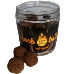 Bandit Killer Spice Hook Baits Hot truskawka 20mm 250ml