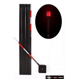MARKER KARPIOWY 6m z Głowicą LED Czerwona- CARP MARKER