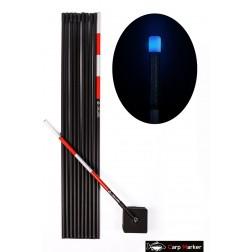 MARKER KARPIOWY 6m z Głowicą LED Niebieska - CARP MARKER