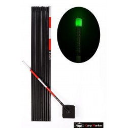 MARKER KARPIOWY 6m z Głowicą LED Zielona - CARP MARKER