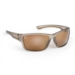 Fox Avius® Wraps - Trans Khaki Frame/Brown Mirror Lens CSN045