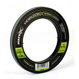 Matrix Horizon X Tapered Shock Leader 8lb/12lb GML026