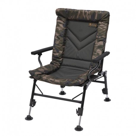Prologic AVENGER COMFORT CAMO CHAIR W/ARMRESTS & COVERS 65046