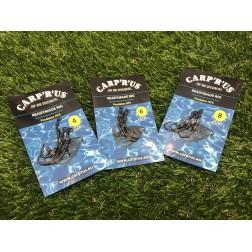 Carp'R'Us - Ready Naked Ronnie Rig Predator roz.4 3 szt.