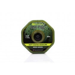 RidgeMonkey RM-Tec Soft Coated Hooklink 25LB Weed Green RMT016
