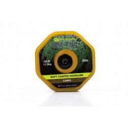 RidgeMonkey RM-Tec Soft Coated Hooklink 35lb Camo RMT021