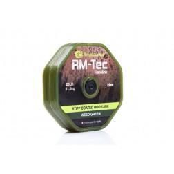 RidgeMonkey RM-Tec Stiff Coated Hooklink 35lb Weed Green RMT031