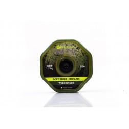 RidgeMonkey RM-Tec Soft Braid Hooklink 25lb Weed Green RMT034