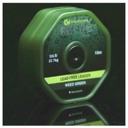RidgeMonkey RM-Tec Lead Free Leader 50lb Weed Green RMT040