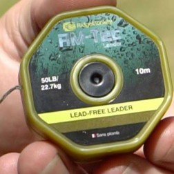 RidgeMonkey RM-Tec Lead Free Leader 50lb Camo RMT042
