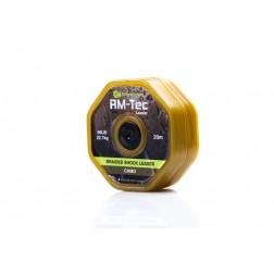 RidgeMonkey RM-Tec Braided Shock Leader 50lb Camo RMT047
