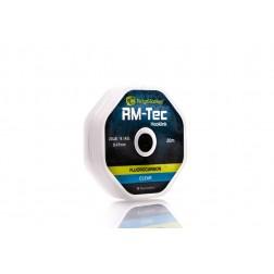 RidgeMonkey RM-Tec Fluorocarbon Hooklink 20lb Clear RMT049
