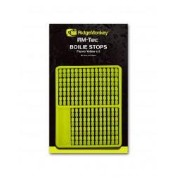 RidgeMonkey RM-Tec Boilie Stops Flouro Yellow RMT078