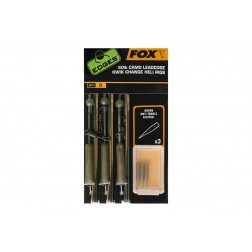 Fox Edges 50lb Camo Leadcore Kwik Change Heli Rigs CAC755