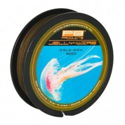 PB Products Jelly Wire 25lb Silt 20m PLECIONKA W MIĘKKIEJ OTULINIE