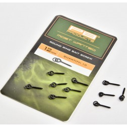 PB Products Round Ring Bait Screw 12mm 10szt. WKRĘTKA DŁUGA DO POP UP