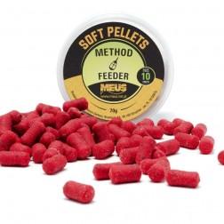Meus Soft Pellets Miękki 10mm Red Halibut