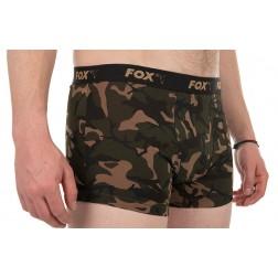 Fox RAGLAN T-SHIRT BLACK/CAMO Rozmiar XXXL CFX108