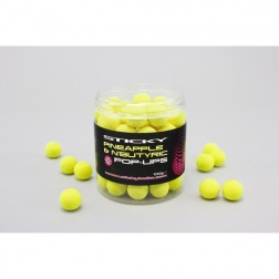STICKY BAITS PEACH & PEPPER DUMBEL WAFTERS 100g