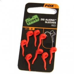 Fox Zig Aligna Sleeve Red 8szt.