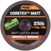 Fox Matt Coretex Gravelly Brown 25lb - 20m CAC435
