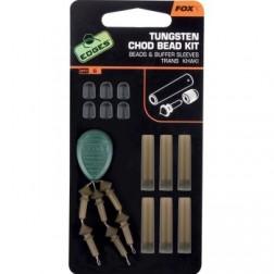 Fox Edges Tungsten Chod Bead Kit x 6